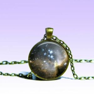 ~ Mystic Stars in Sky Planet Necklace ~